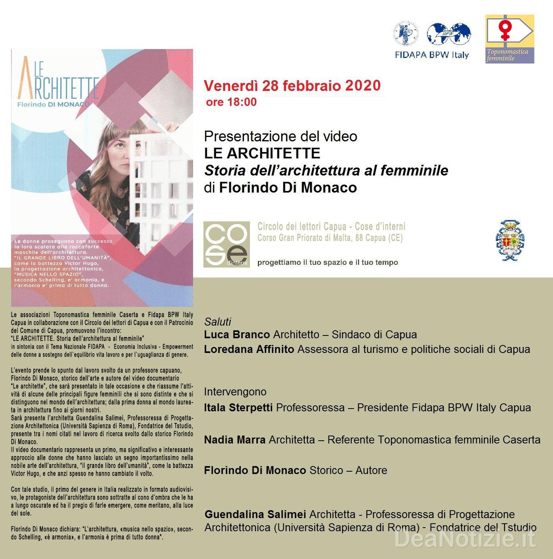 """Studi Architettura Roma Lavoro capua: """"le architette. storia dell'architettura al femminile"""